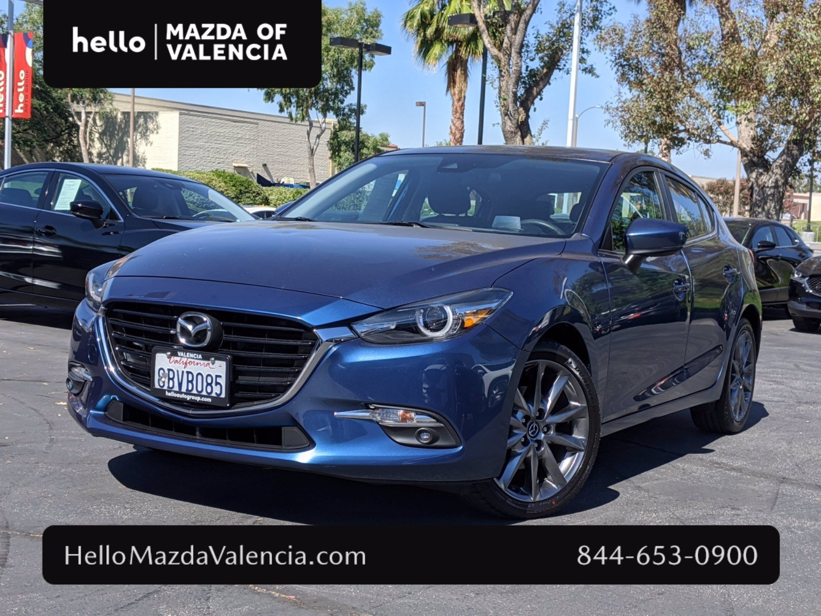 Pre-Owned 2018 Mazda3 5-Door Grand Touring