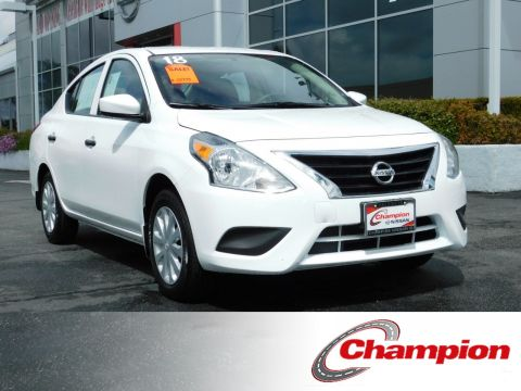 Pre-Owned 2018 Nissan Versa Sedan S