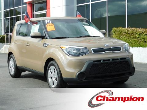 Certified Pre-Owned 2015 Kia SOUL WAGON 4D
